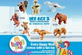 Obsessed with 'Ice Age 3'? Then why not eat a Happy Meal?