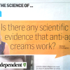 Is there actually evidence for anti-ageing creams?