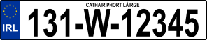 Ta-da!!! The NEW misfortune-proof 2013 plates! (Wikipedia)