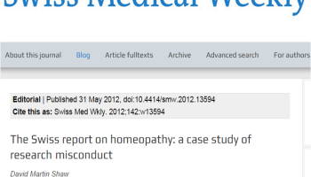 Homeopathy, vaccination, autism: Together again – The
